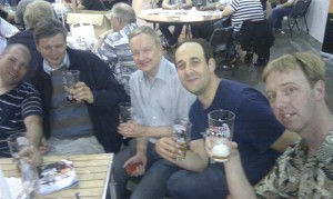 STOIC bodgers at the beer festival