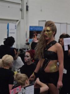 Model at Professional Beauty 2012